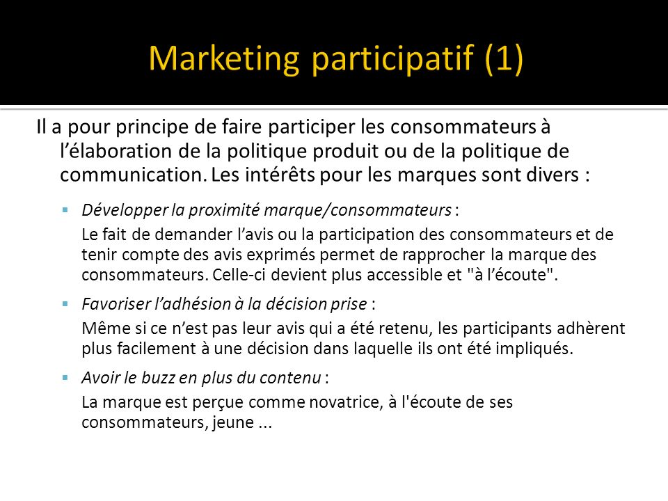 Marketing participatif (1)