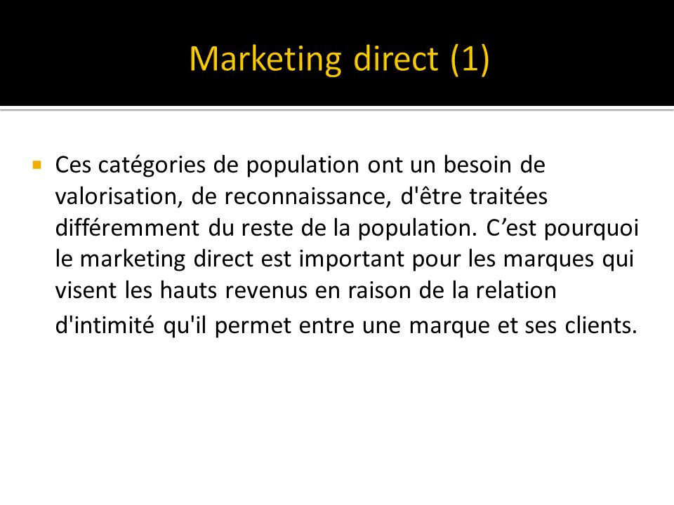 Marketing direct (1)