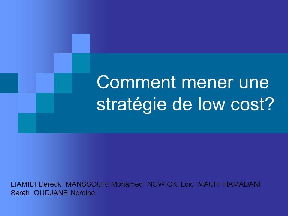 Comment mener une stratégie de low cost