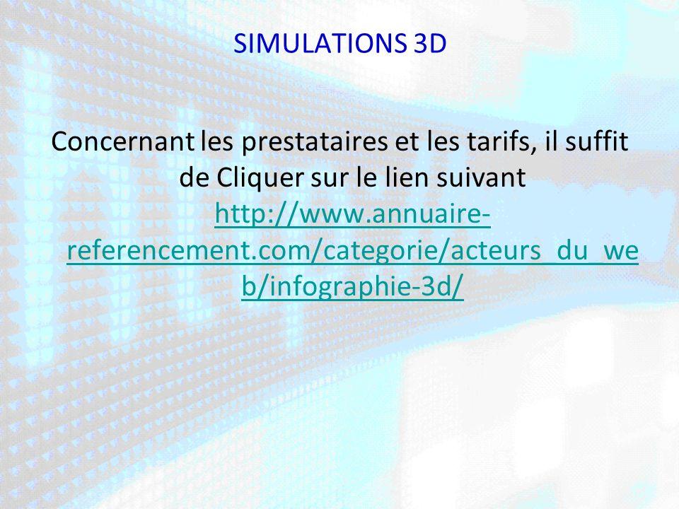 SIMULATIONS 3D