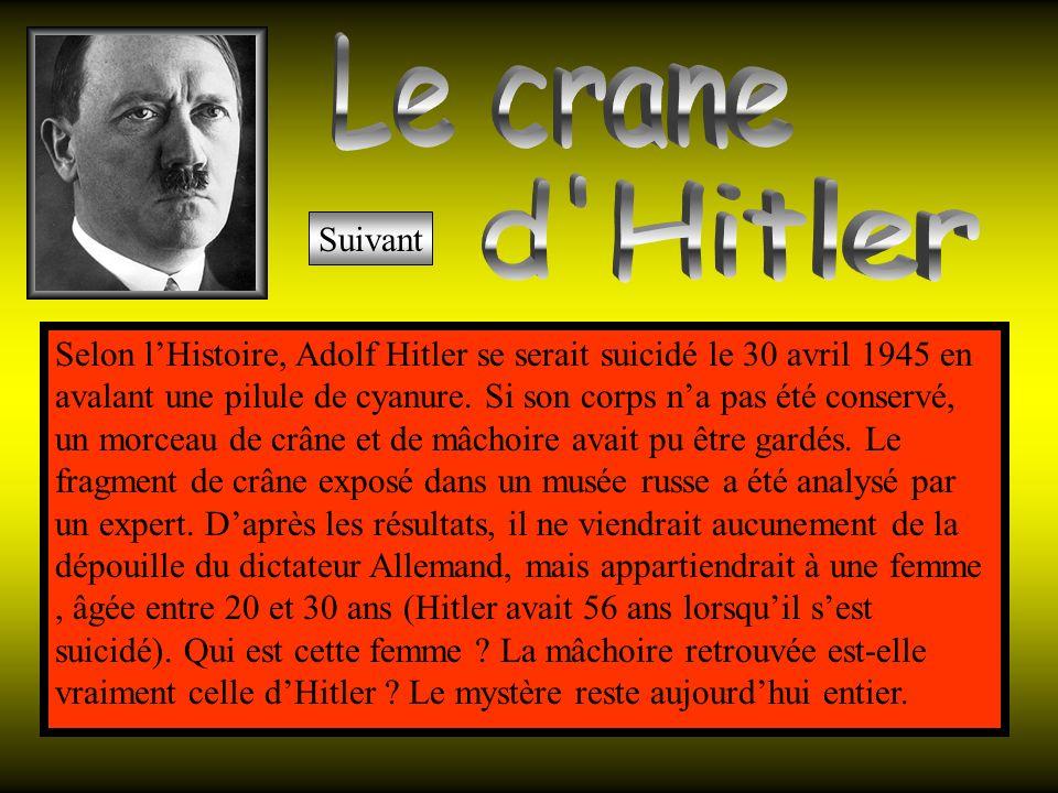 Le crane d Hitler Suivant