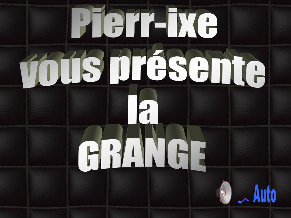 Pierr-ixe vous présente la GRANGE Auto