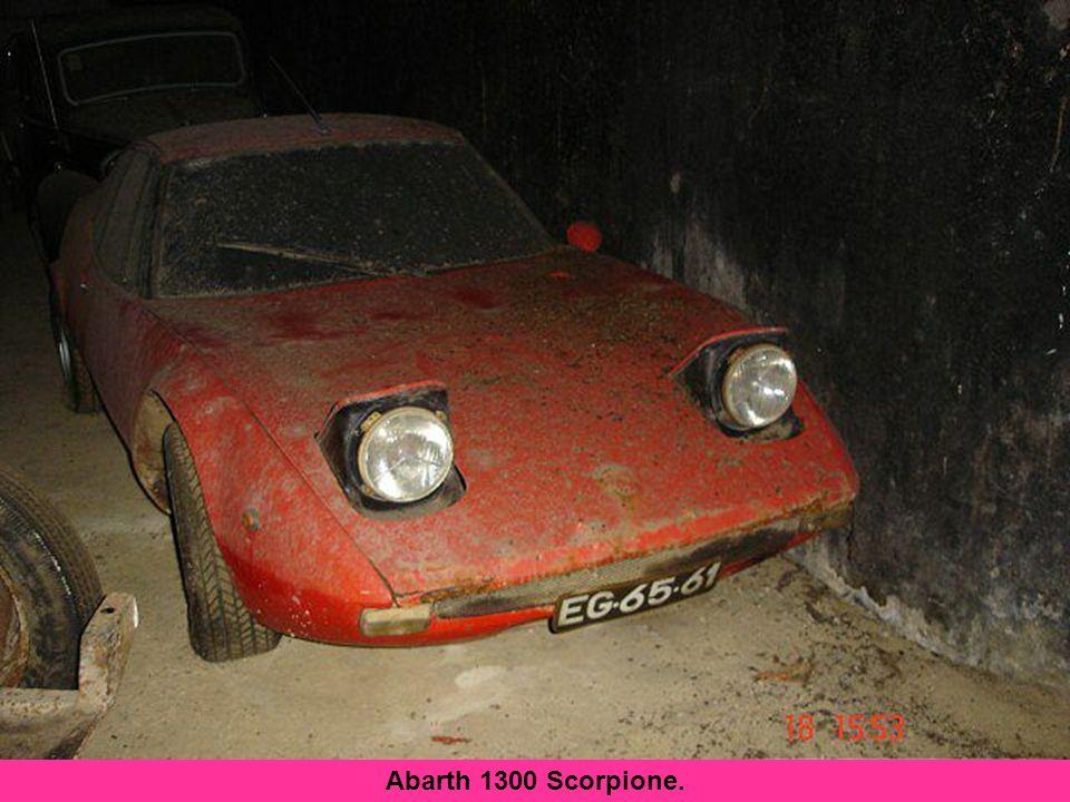 Ben voyons-donc ! Abarth 1300 Scorpione.