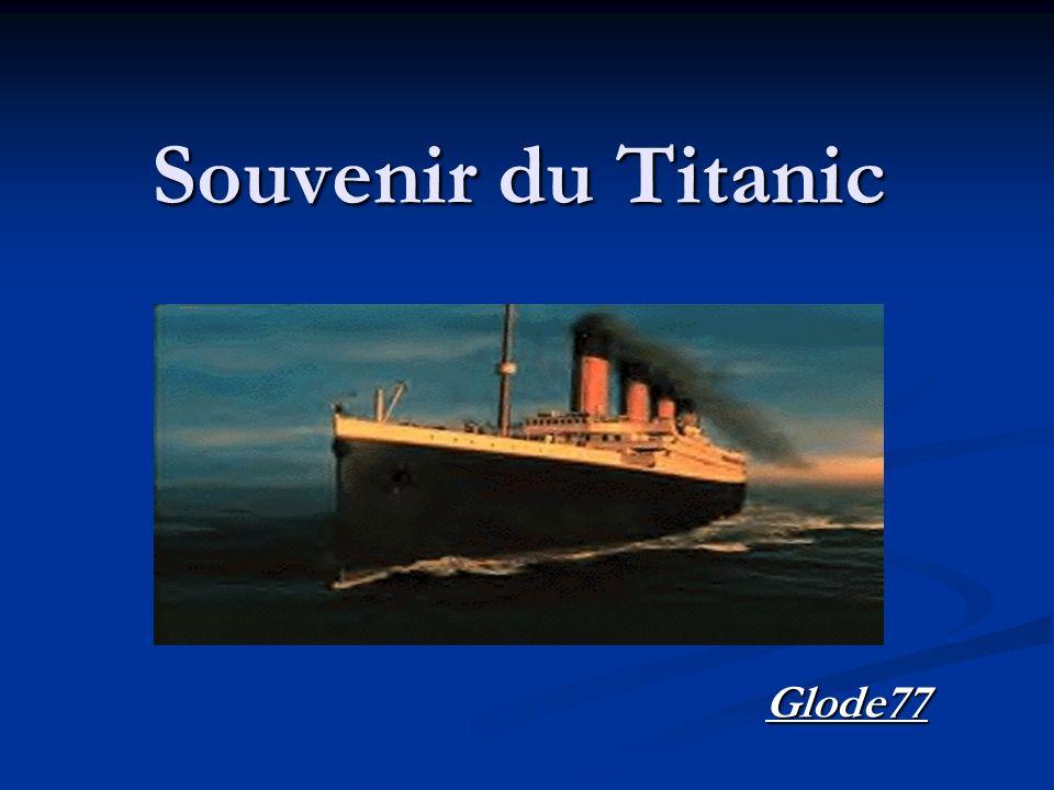 Souvenir du Titanic Glode77