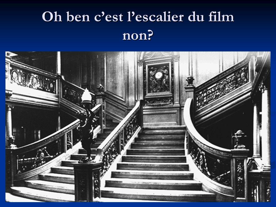 Oh ben c'est l'escalier du film non