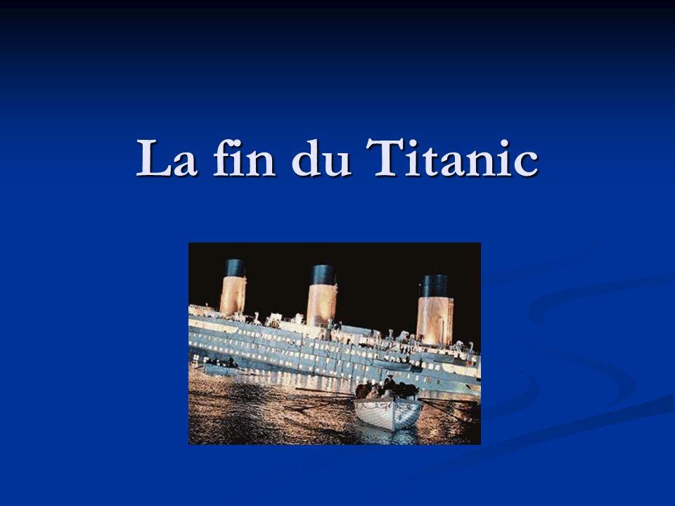 La fin du Titanic