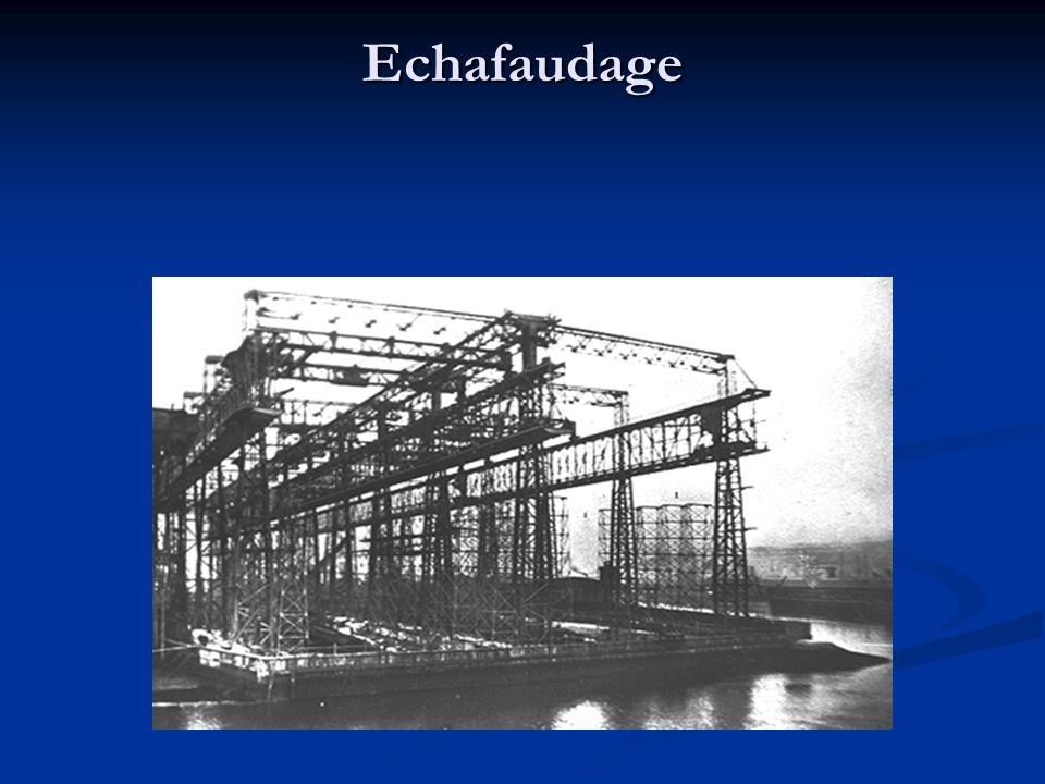 Echafaudage