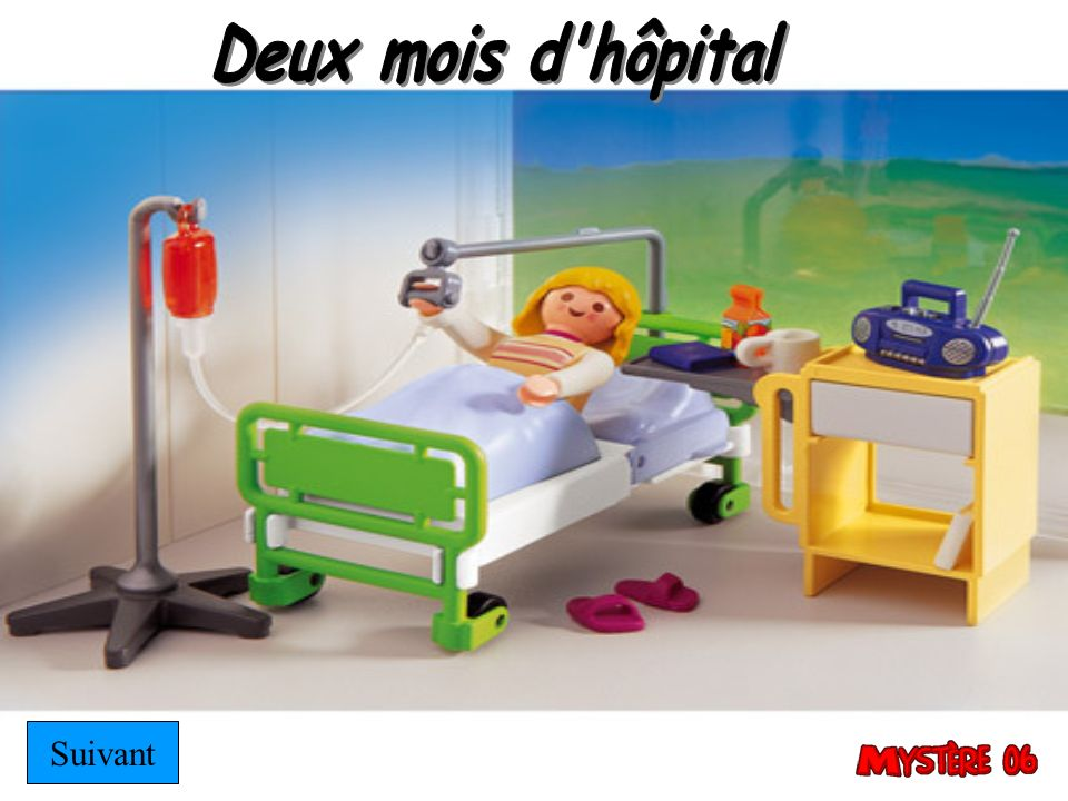 Deux mois d hôpital Suivant