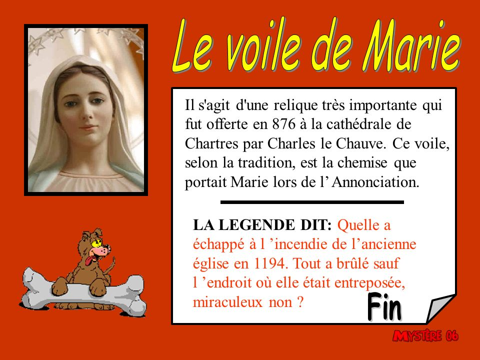 Le voile de Marie