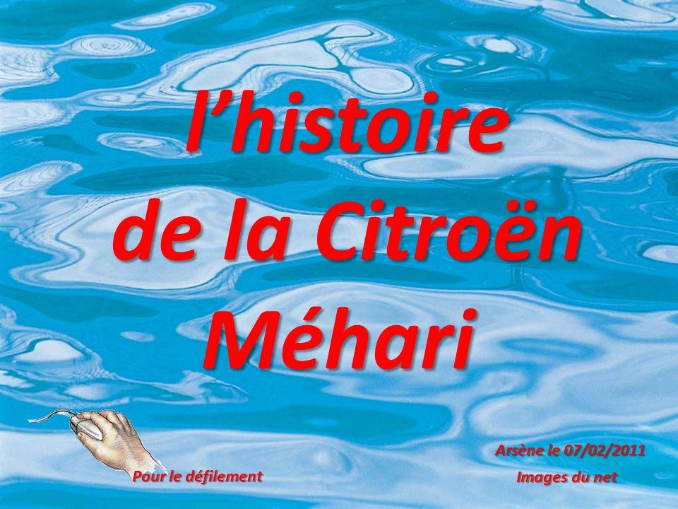 l'histoire de la Citroën Méhari