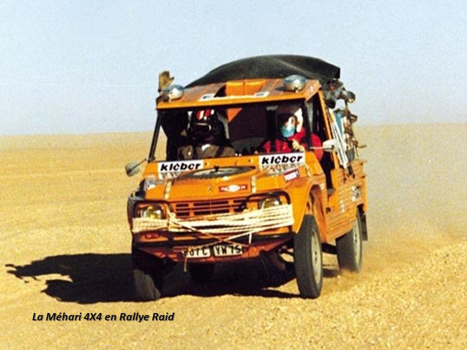 La Méhari 4X4 en Rallye Raid