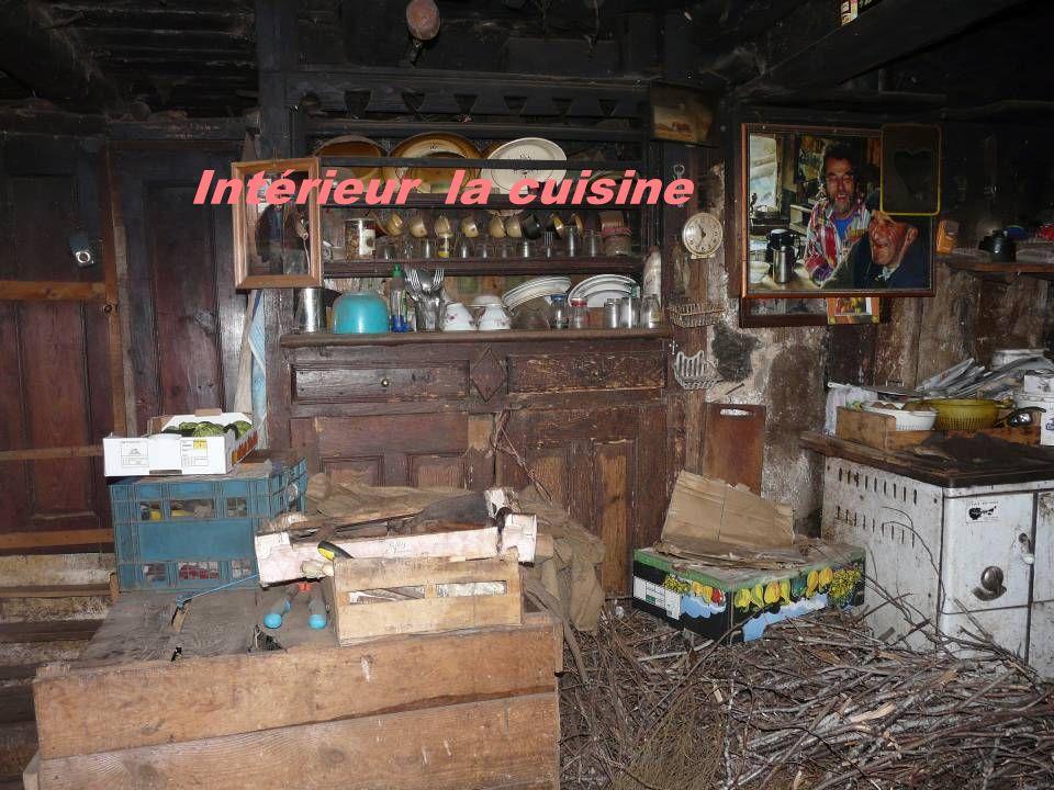 Intérieur la cuisine