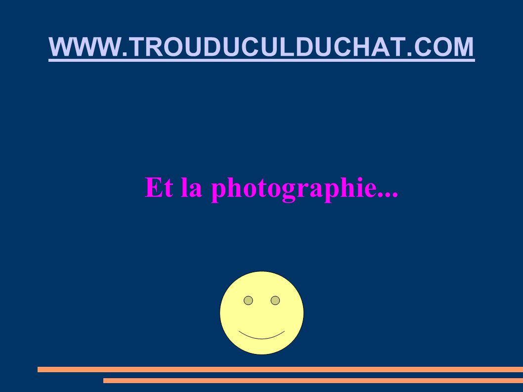 WWW.TROUDUCULDUCHAT.COM Et la photographie...