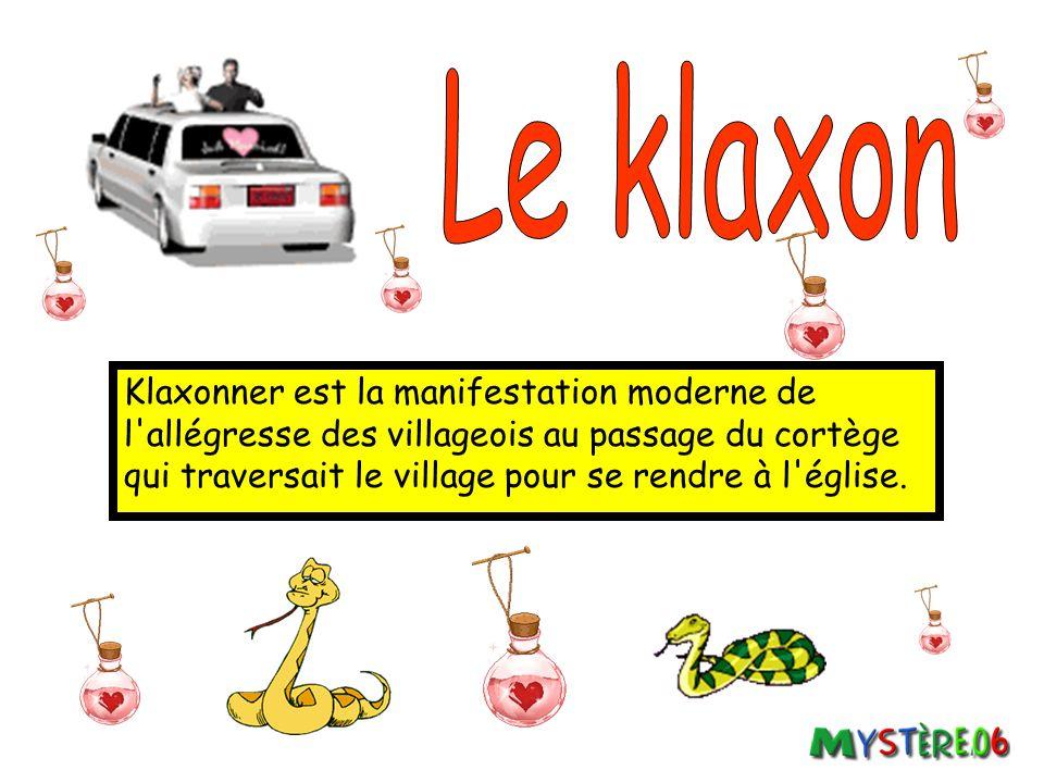 Le klaxon