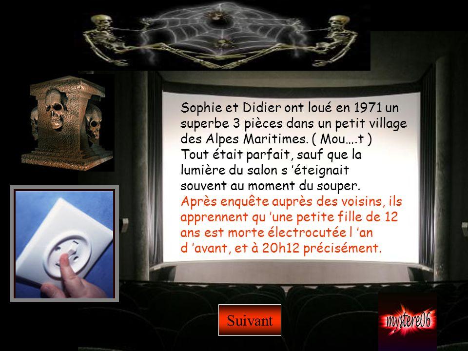 Sophie et Didier ont loué en 1971 un superbe 3 pièces dans un petit village des Alpes Maritimes. ( Mou….t )