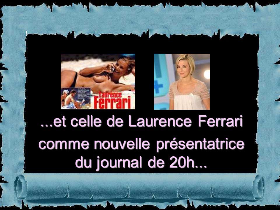 ...et celle de Laurence Ferrari