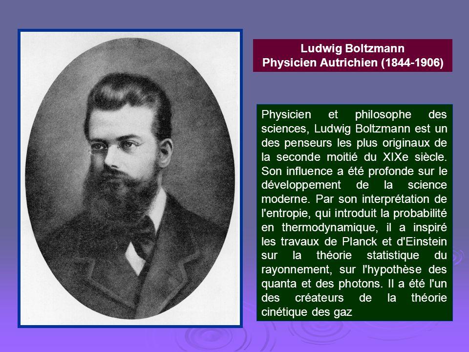Physicien Autrichien (1844-1906)