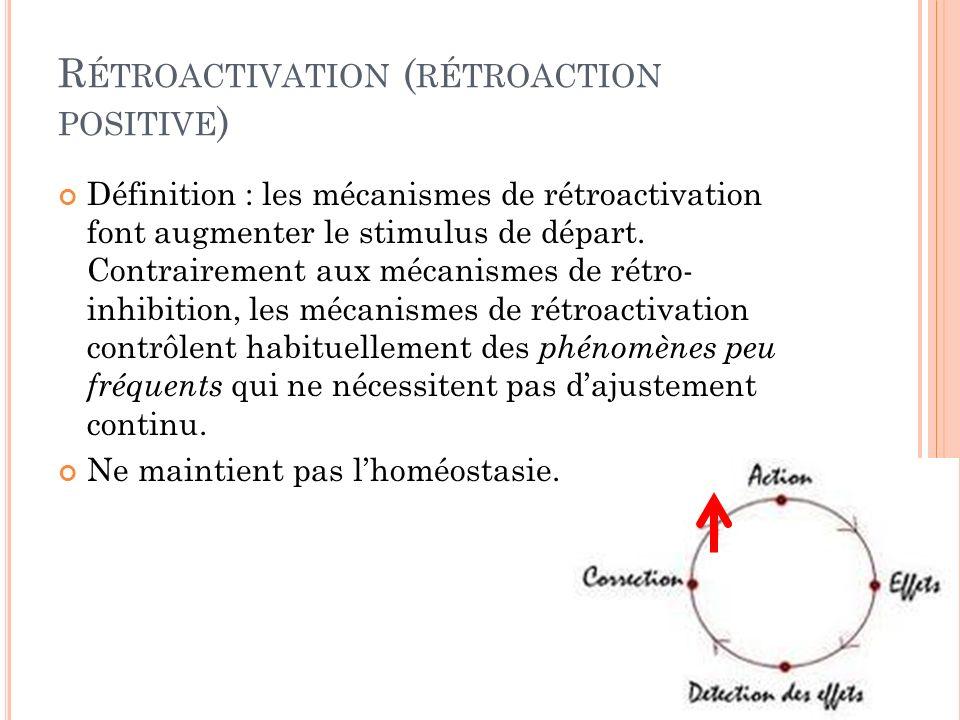 Rétroactivation (rétroaction positive)