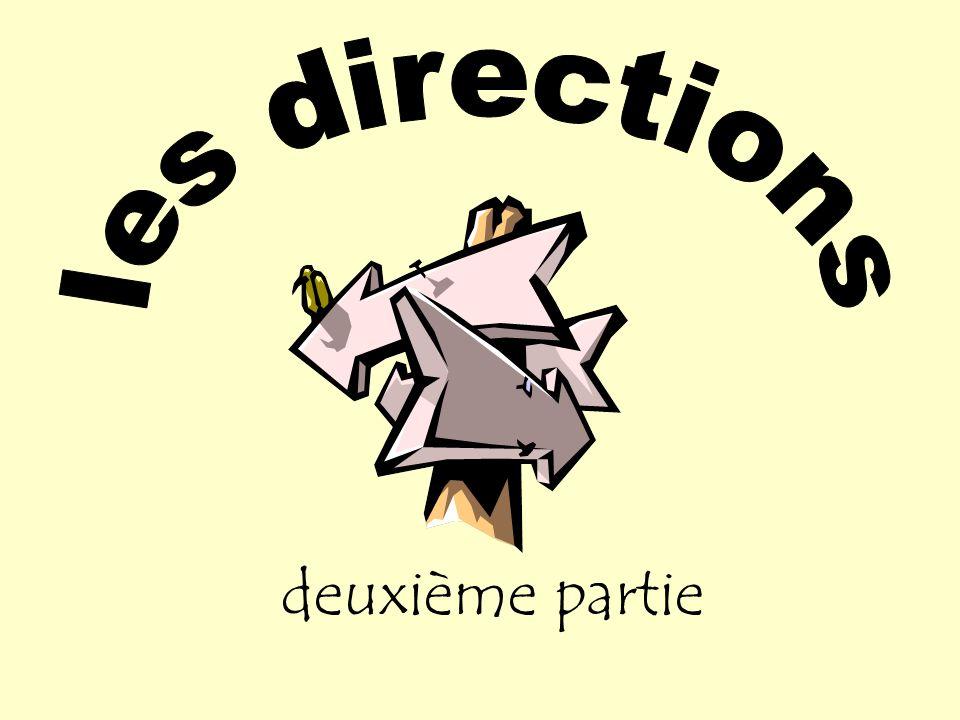 les directions deuxième partie