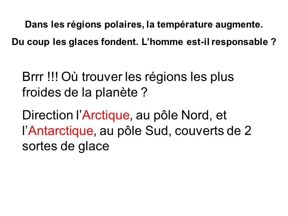 Brrr !!! Où trouver les régions les plus froides de la planète