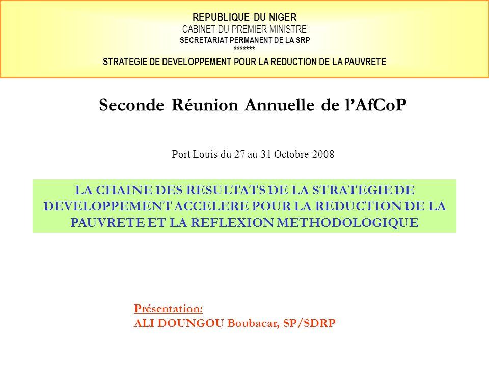 Seconde Réunion Annuelle de l'AfCoP