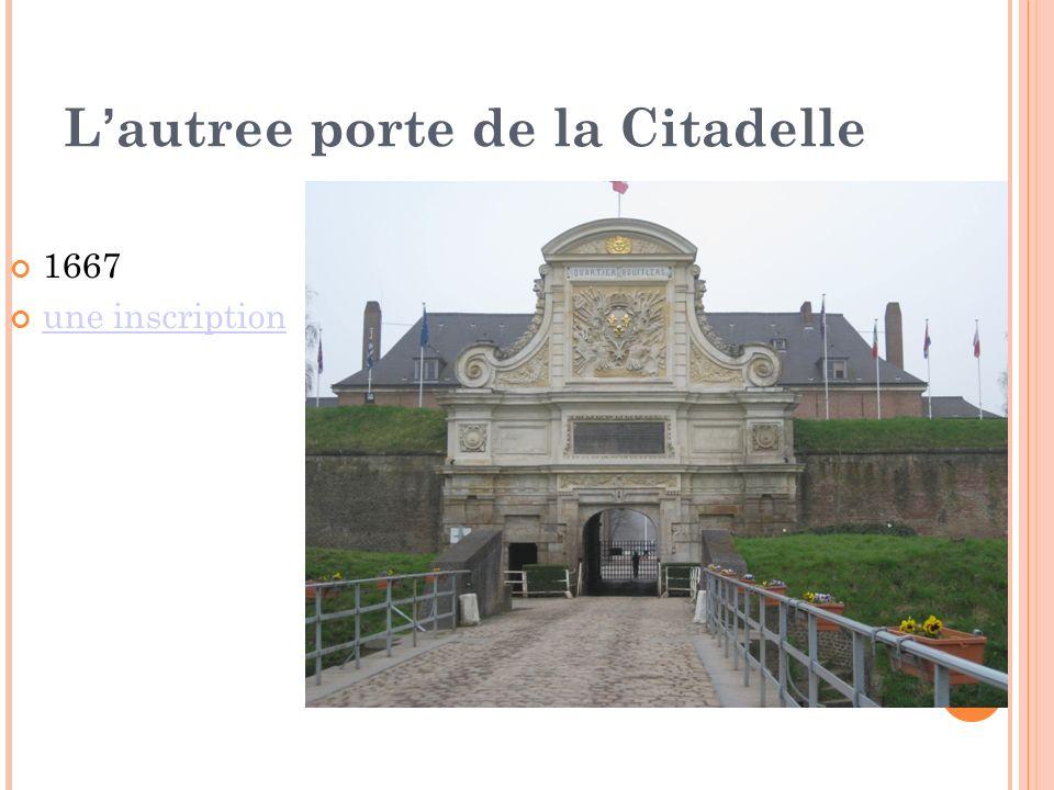 L'autree porte de la Citadelle