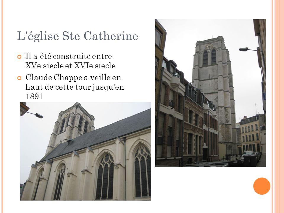 L'église Ste Catherine