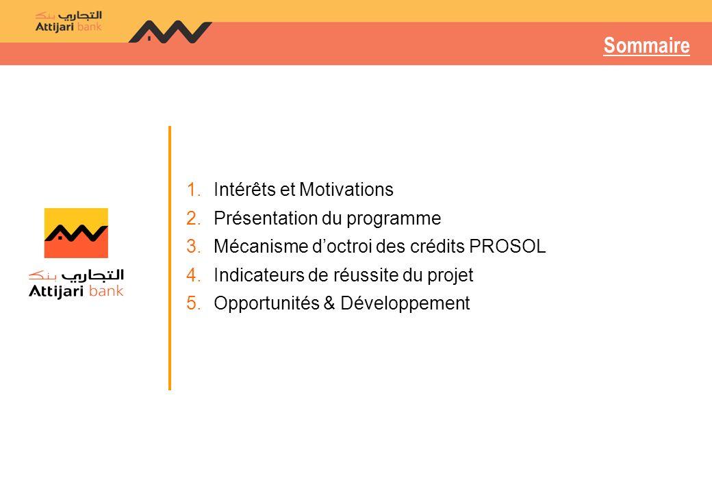 Sommaire Intérêts et Motivations Présentation du programme