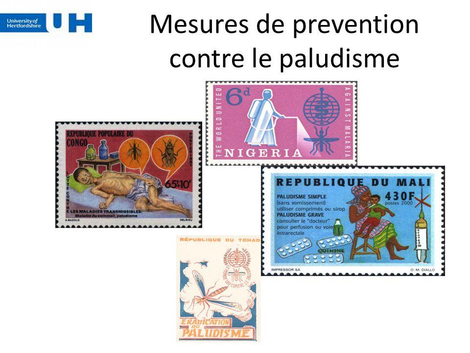 Mesures de prevention contre le paludisme