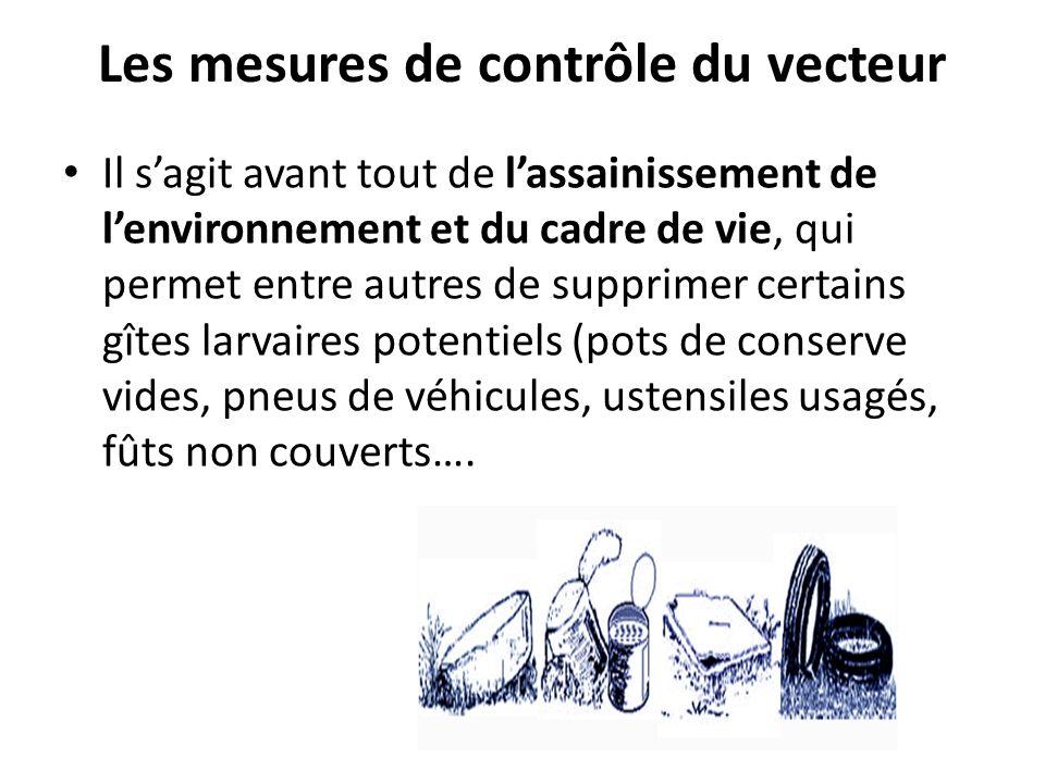 Les mesures de contrôle du vecteur