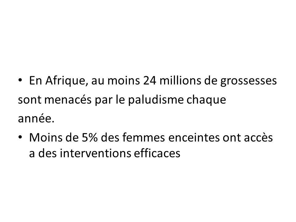 En Afrique, au moins 24 millions de grossesses