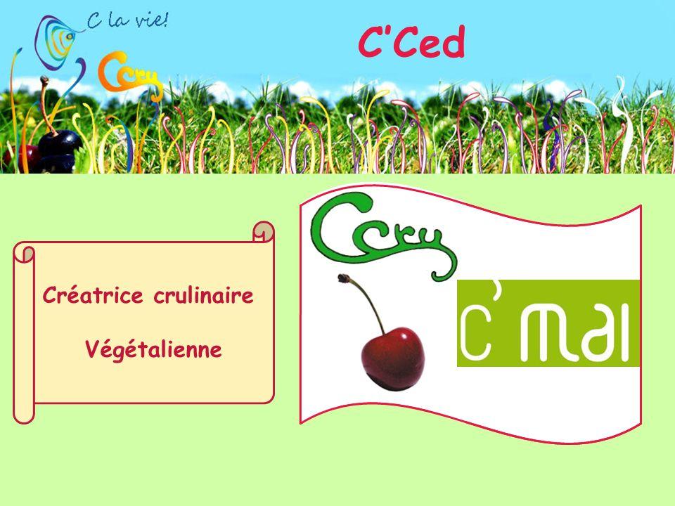 C'Ced Créatrice crulinaire Végétalienne