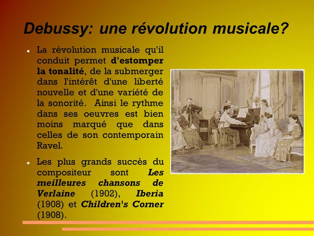 Debussy: une révolution musicale