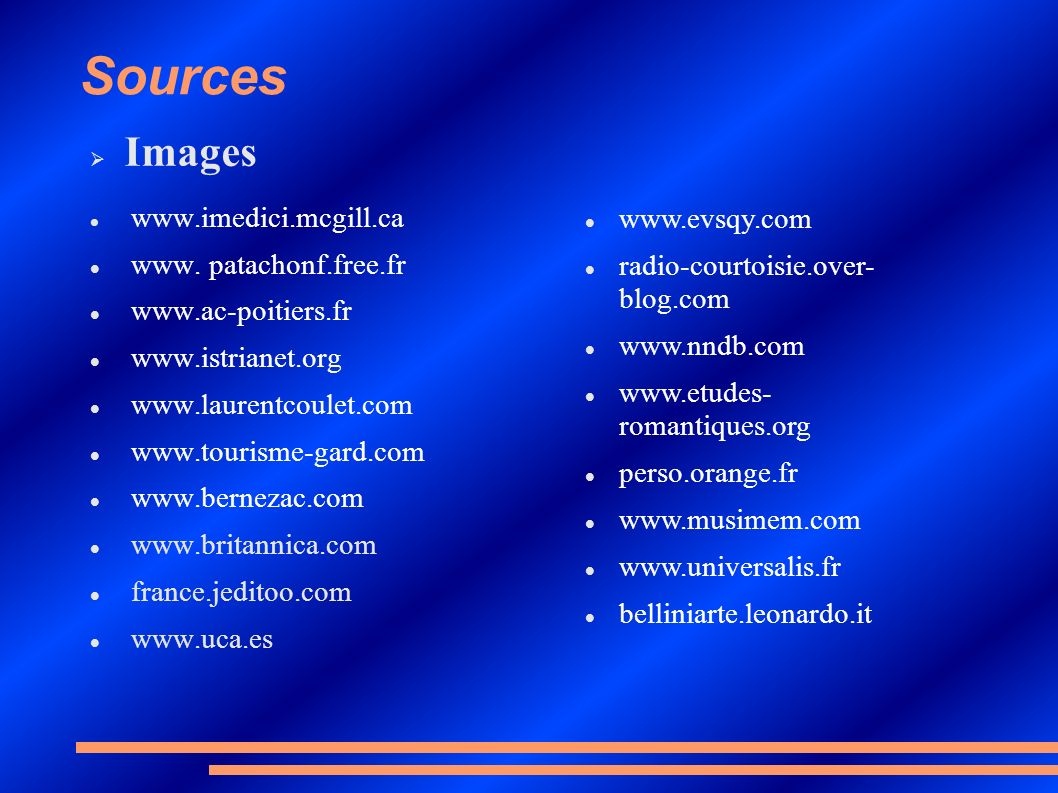 Sources Images www.evsqy.com www. patachonf.free.fr