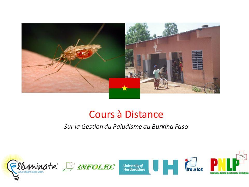 Cours à Distance Sur la Gestion du Paludisme au Burkina Faso