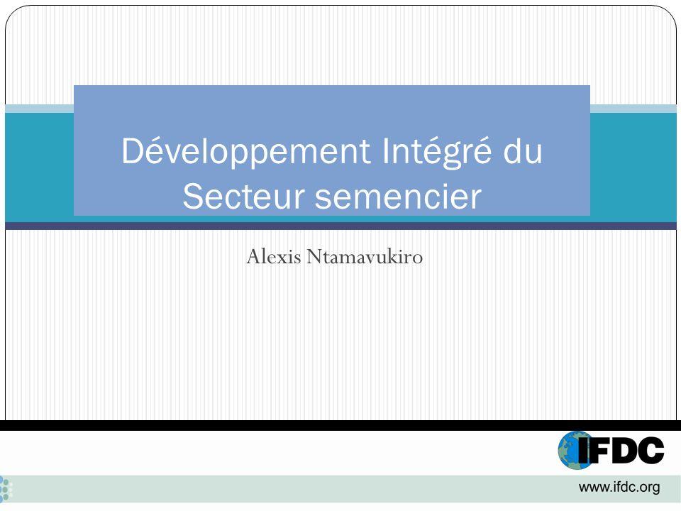 Développement Intégré du Secteur semencier