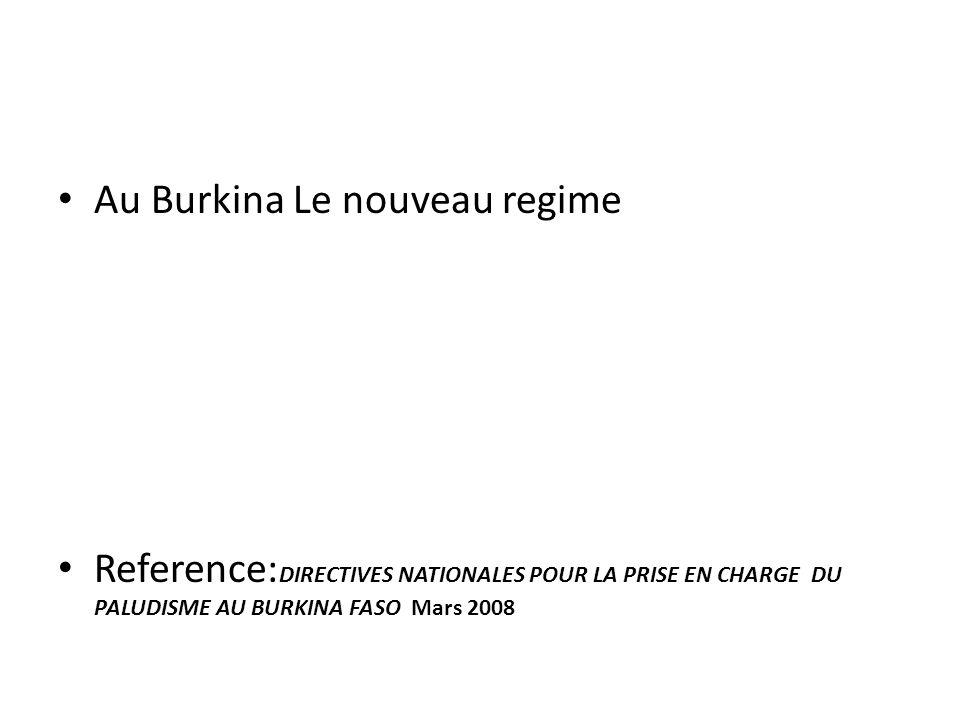 Au Burkina Le nouveau regime