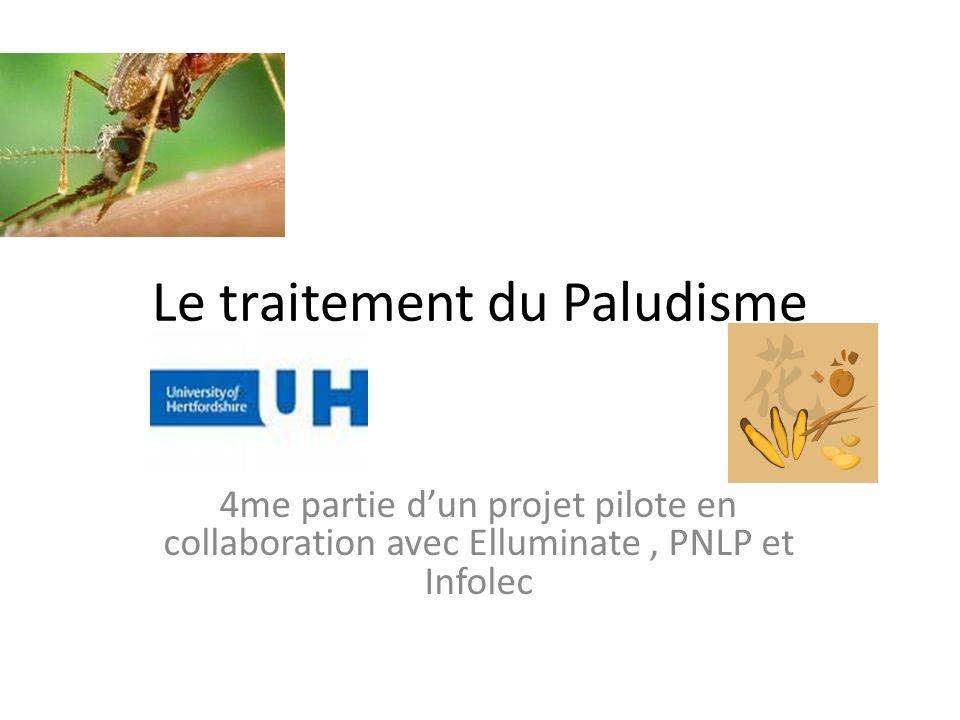 Le traitement du Paludisme