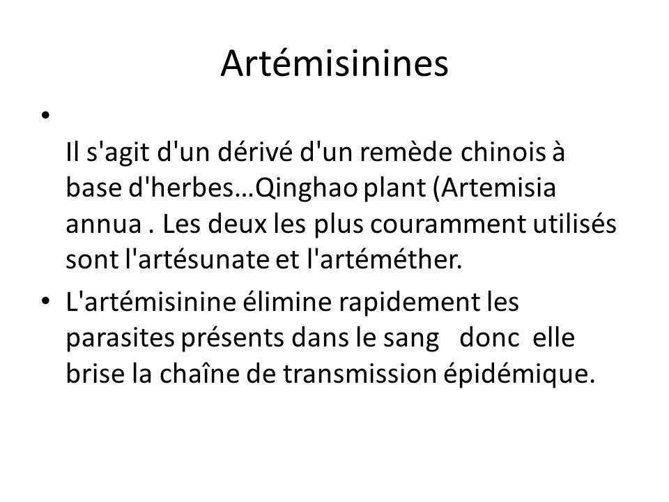 Artémisinines
