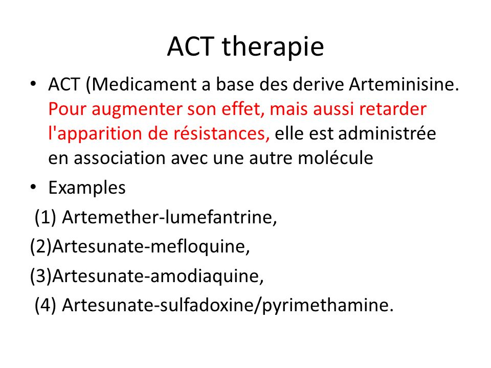 ACT therapie
