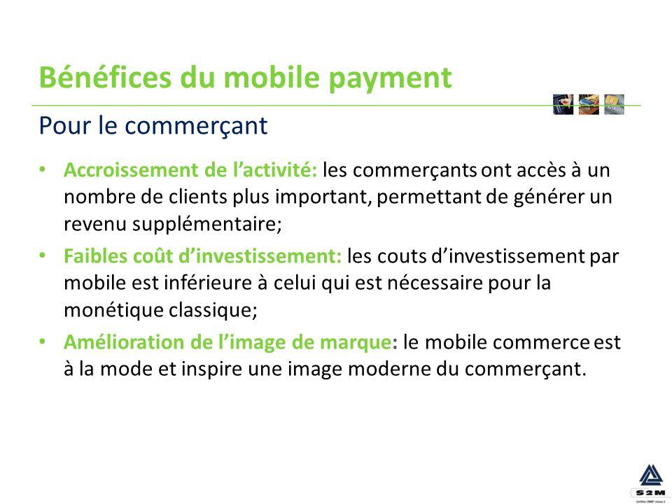 Bénéfices du mobile payment