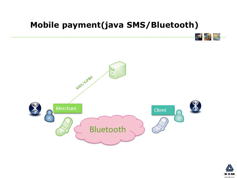Mobile payment(java SMS/Bluetooth)