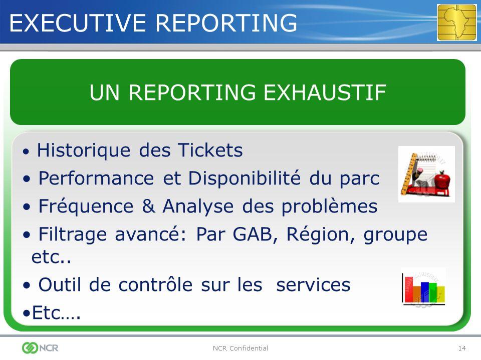 UN REPORTING EXHAUSTIF