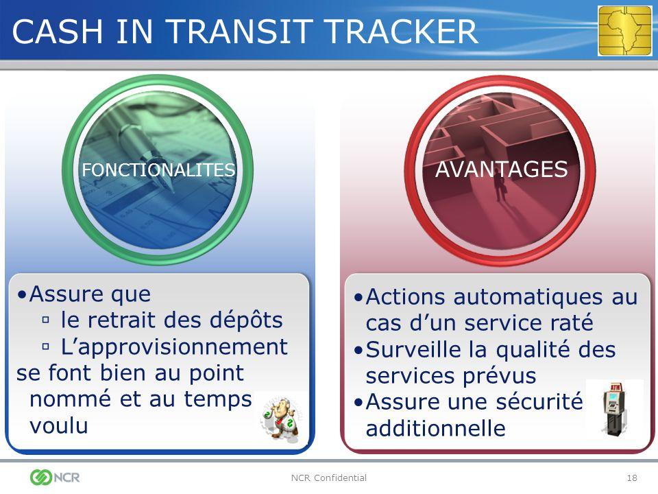 CASH IN TRANSIT TRACKER