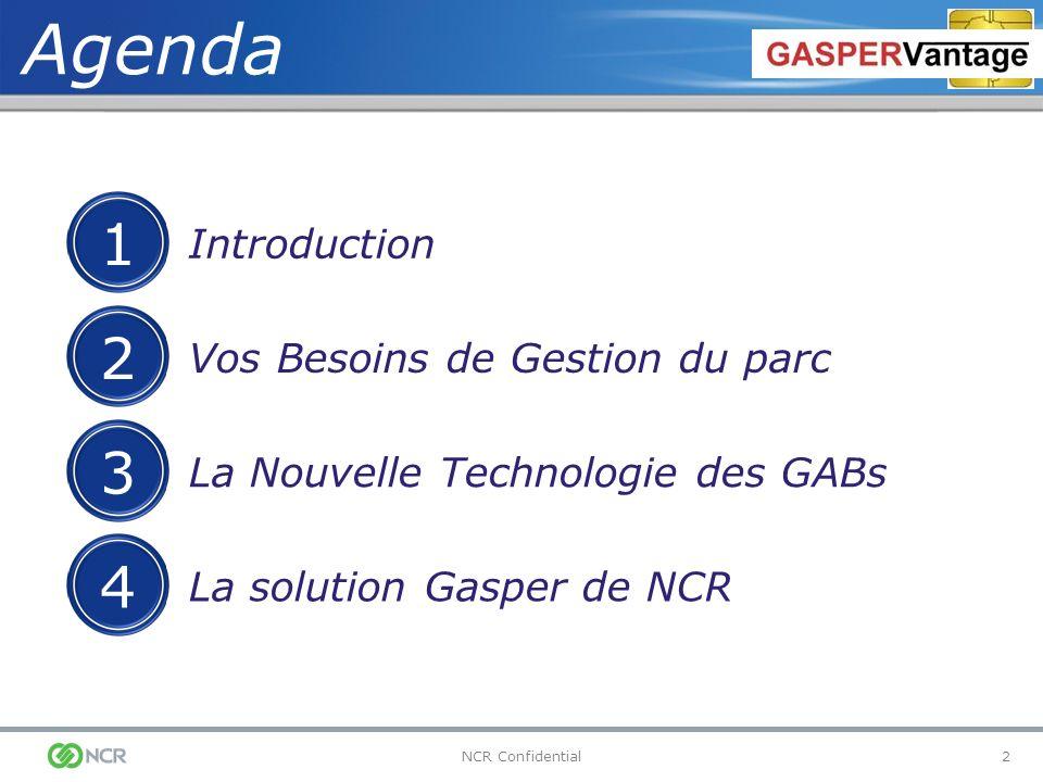 Agenda 1 2 3 4 Introduction Vos Besoins de Gestion du parc