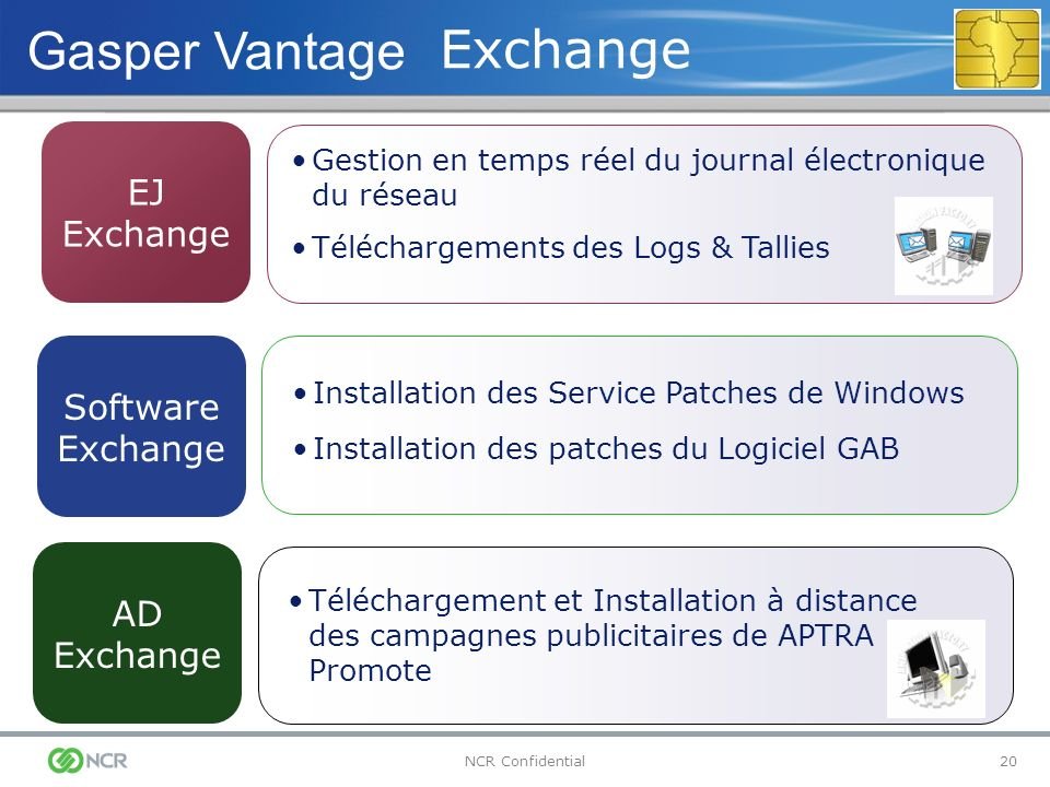 Gasper Vantage Exchange EJ Exchange Software Exchange AD Exchange