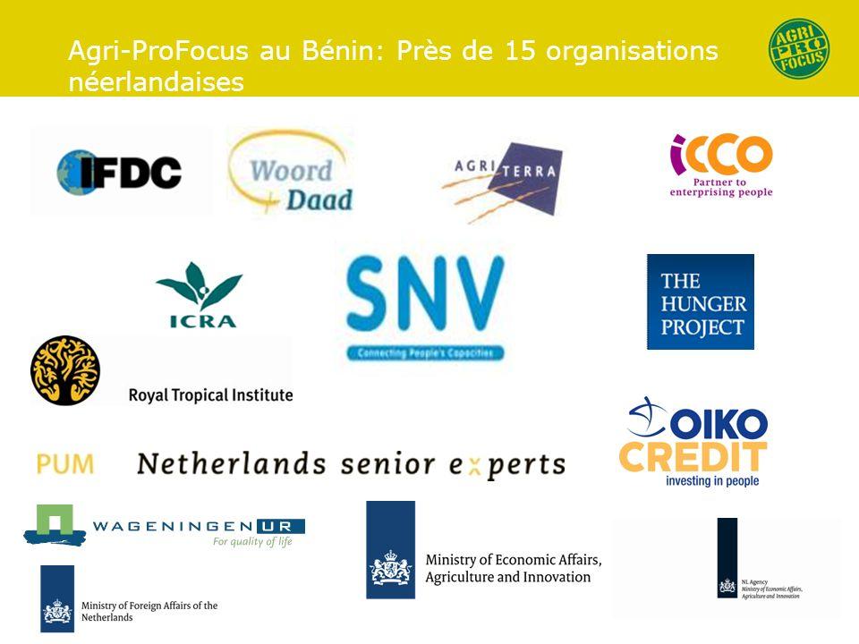 Agri-ProFocus au Bénin: Près de 15 organisations néerlandaises