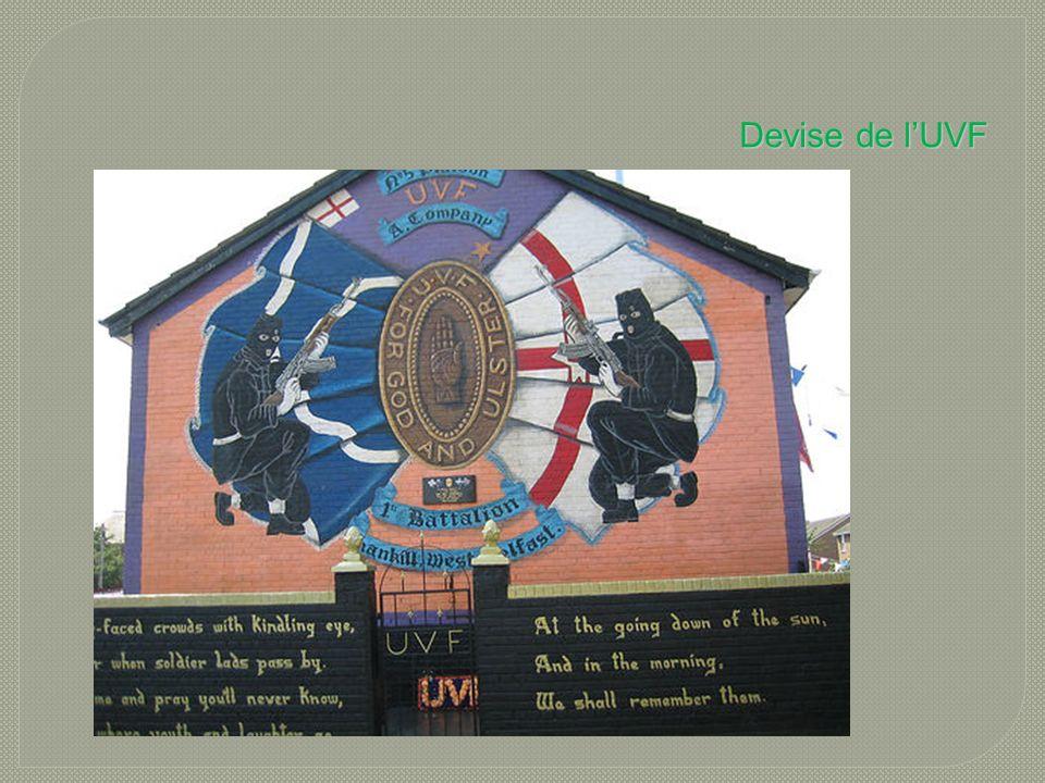 Devise de l'UVF