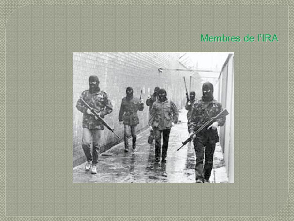 Membres de l'IRA