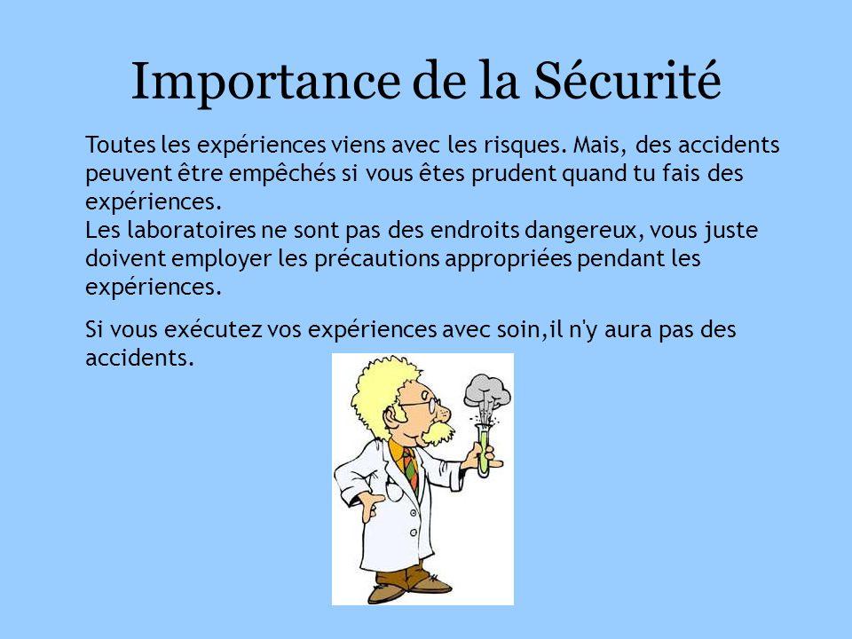 Importance de la Sécurité